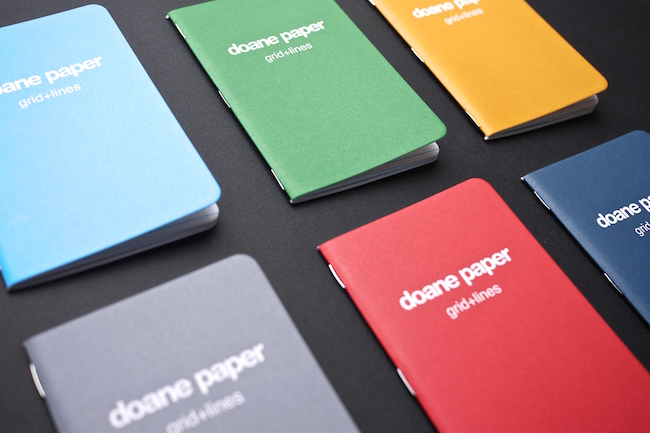 Doane Paper Notebooks from Fox and Hardy