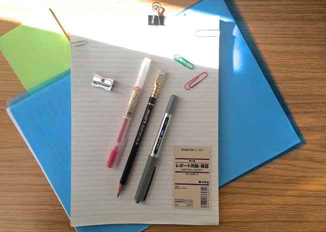 work desk stationery
