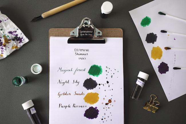 Diamine Shimmer Inks